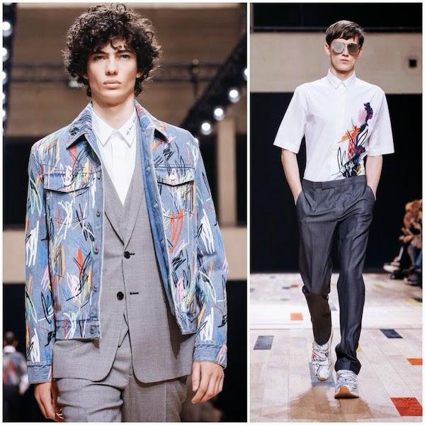 Dior Homme Spring Summer 2015 Paris Fashion Week PFW Art