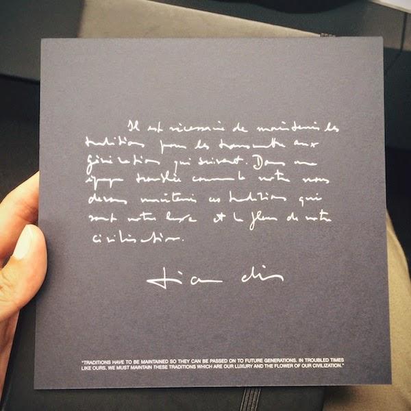 Dior Homme Spring Summer 2015 Paris Fashion Week PFW