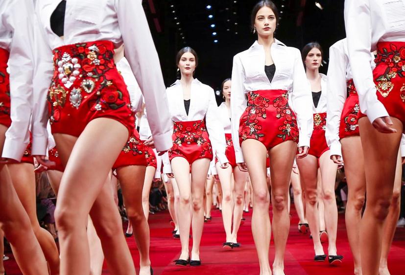 Коридата Dolce & Gabbana продължава