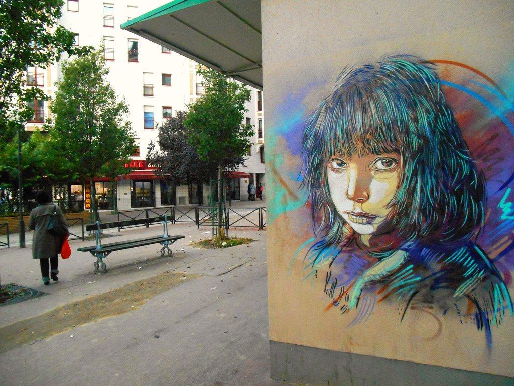 Френският отговор на Banksy