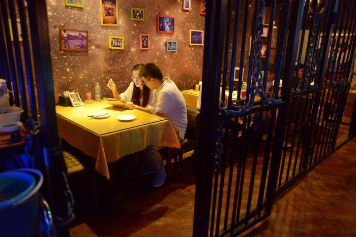 Ресторантът-затвор в Китай