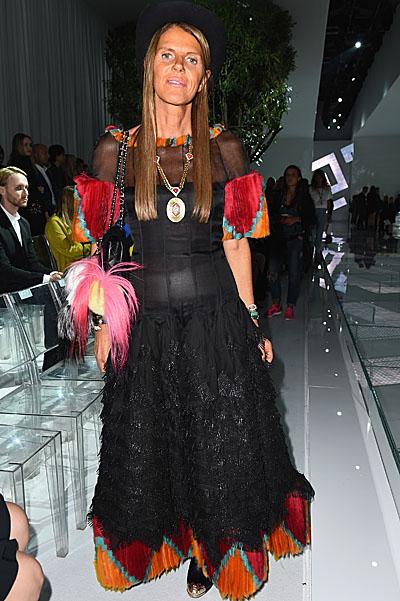 Versace - Front Row - Milan Fashion Week Womenswear Spring/Summer 2015