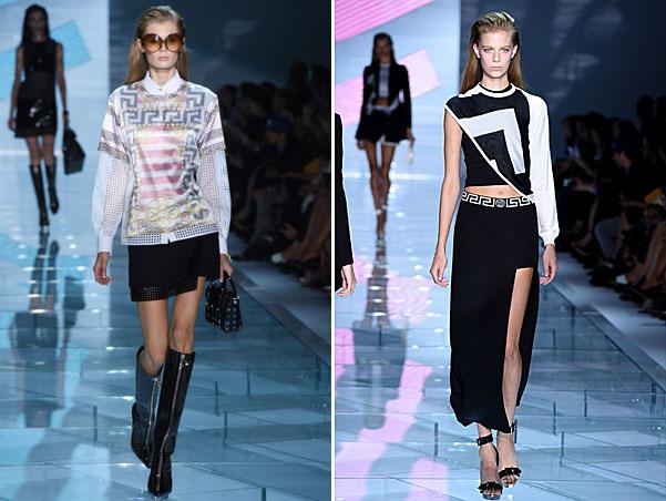 Versace - Runway - Milan Fashion Week Womenswear Spring/Summer 2015