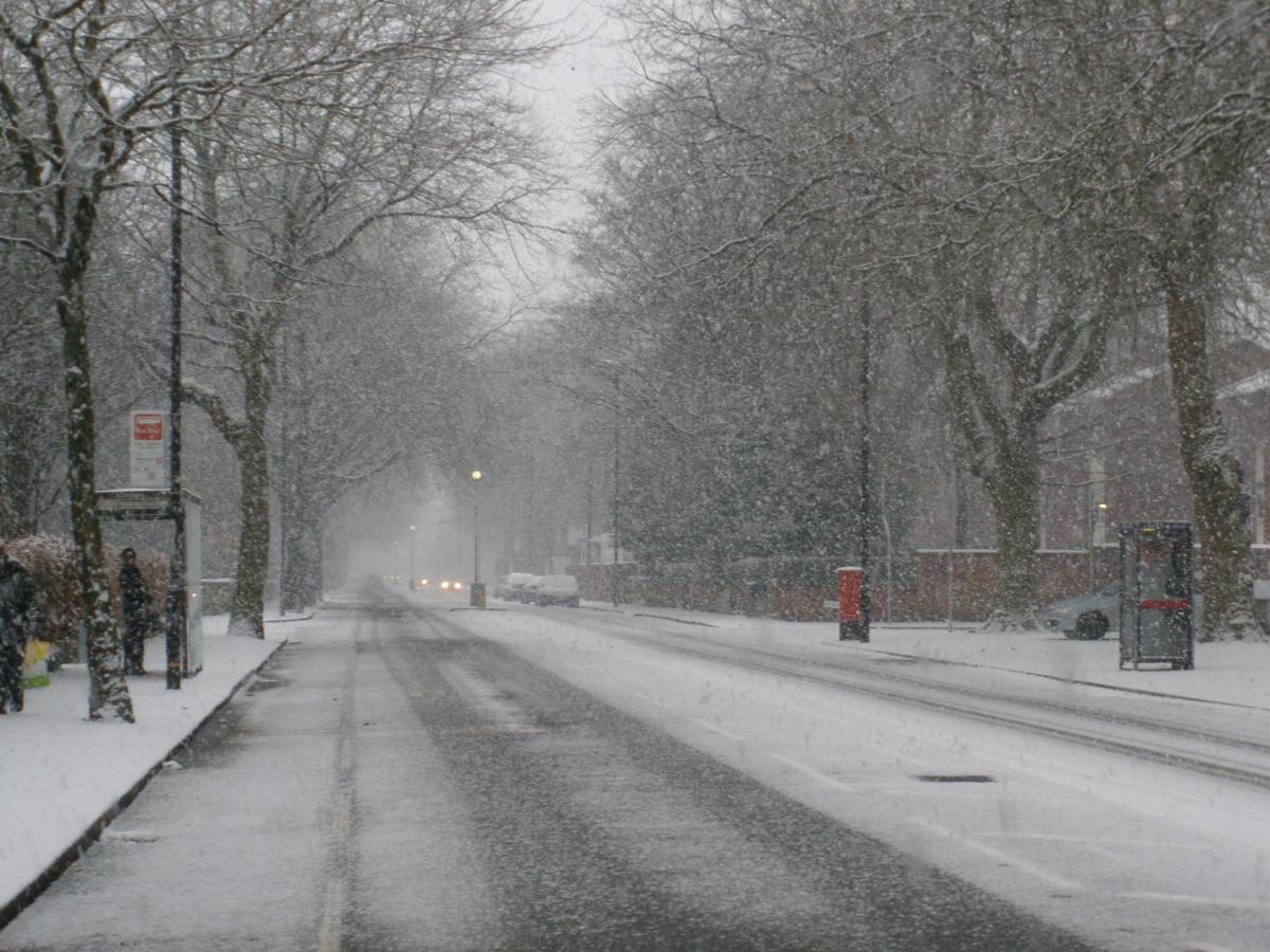 зимни условия