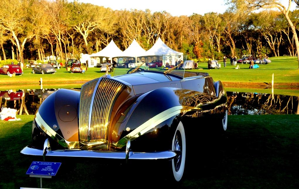 1947 Rolls-Royce Phantom III Labourdette Vutotal Cabriolet ...