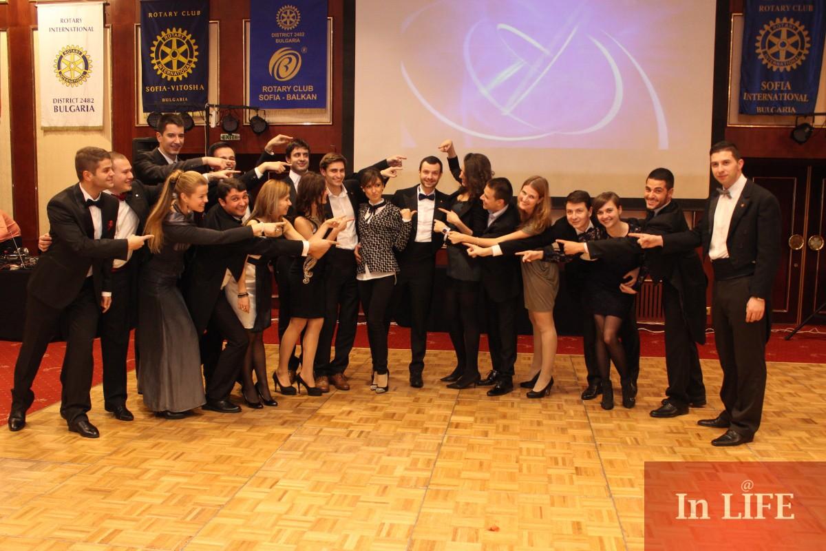 Коледен бал на софийските РОТАРИ клубове