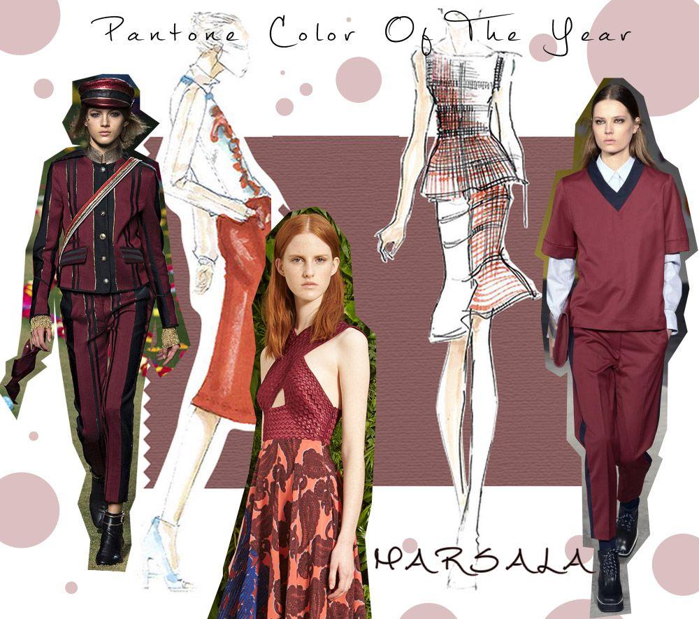 Марсала - най-актуалният цвят за 2015 година