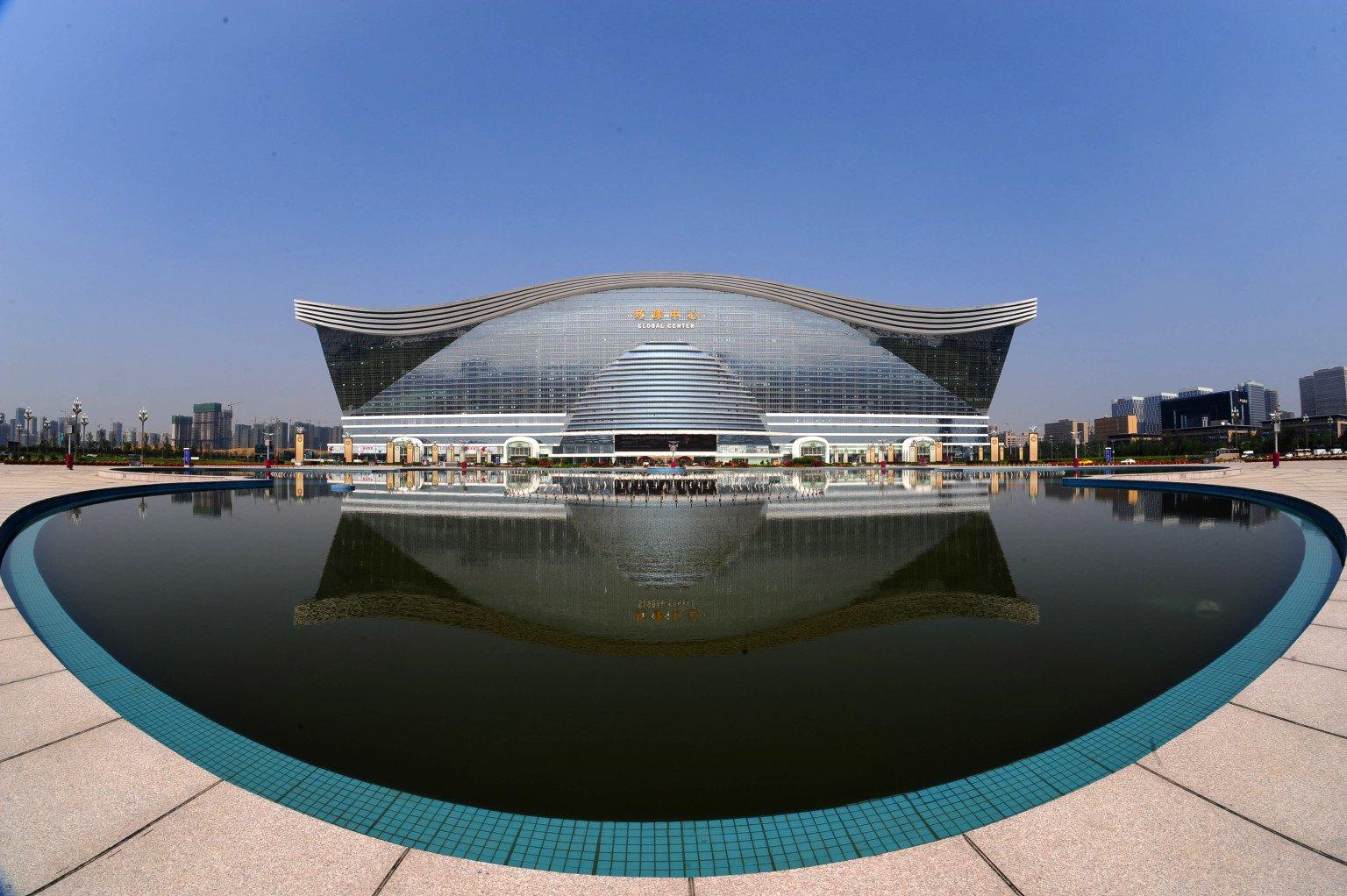 На гости на най-големия бизнес център в света (видео)