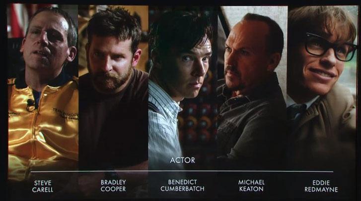 И номинираните за Оскар са...
