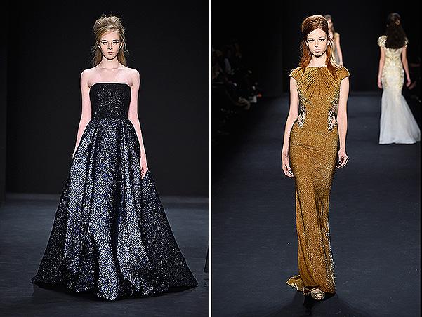 Badgley Mischka - Runway - Mercedes-Benz Fashion Week Fall 2015