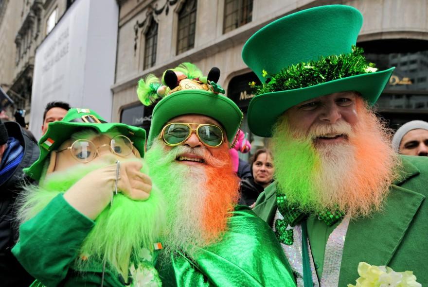 Ирландците празнуват деня на Свети Патрик