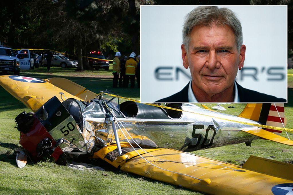 Харисън Форд в болница след самолетна катастрофа