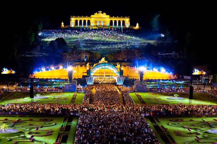 Започва Summer Night Концерт в двореца Шьонбрун