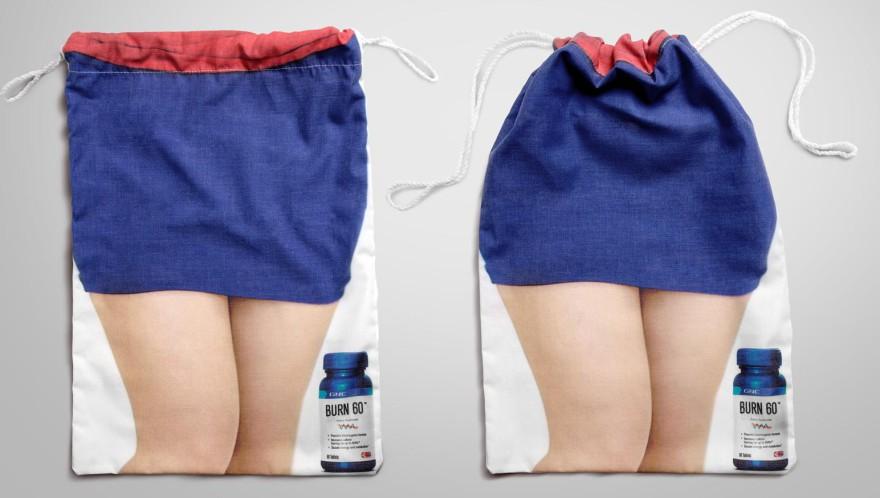 Когато рекламата говори - най-идейните чанти и пликове в света