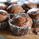 Мъфини с черен шоколад