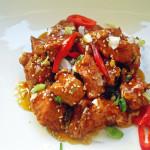Пиле по тайландски със сусам