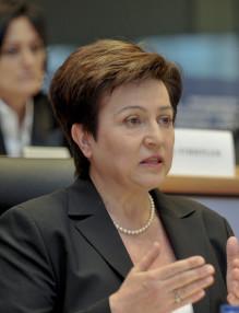 Hearing Georgiena Kristalina