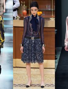 Блузите с панделка - новата стара тенденция