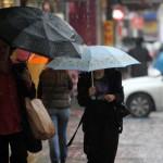Дъжд в София