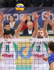 Достойна загуба от Франция на волейболният ни тим