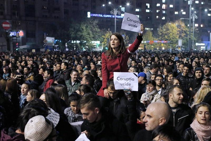 Румъния протести 5