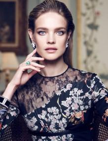 Наталия Водянова за Vogue