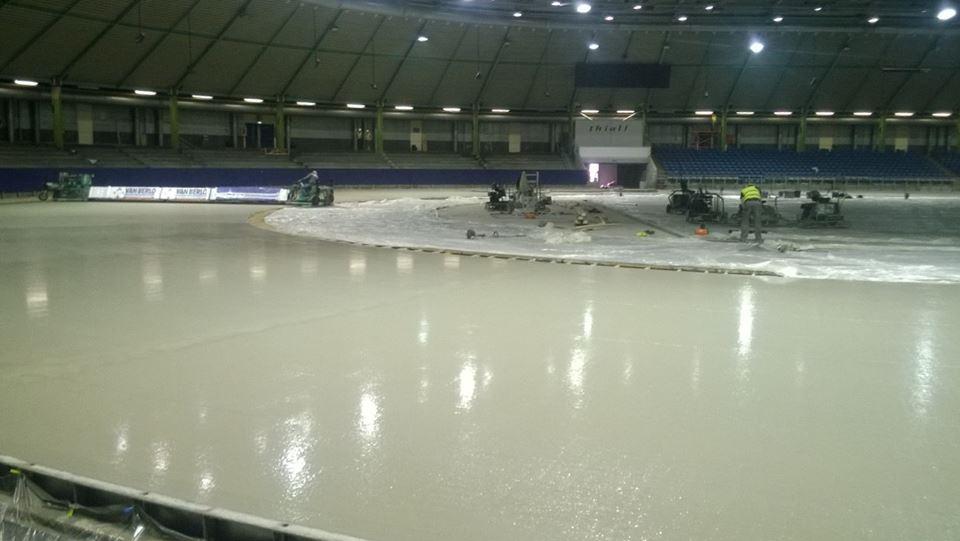New Thialf new ice