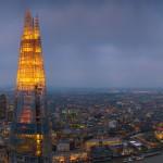 Небостъргачът The Shard в Лондон засвети с българското знаме