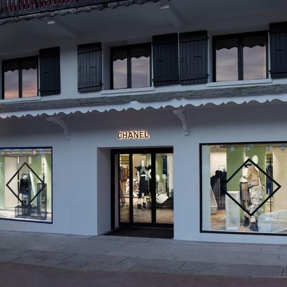 Chanel отново отвори вратите на времения си бутик в Куршевел
