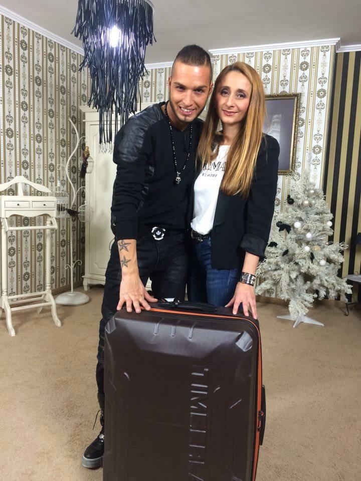 Джино Бинкалана с водещат ана In LIFE TV Пепа Попова