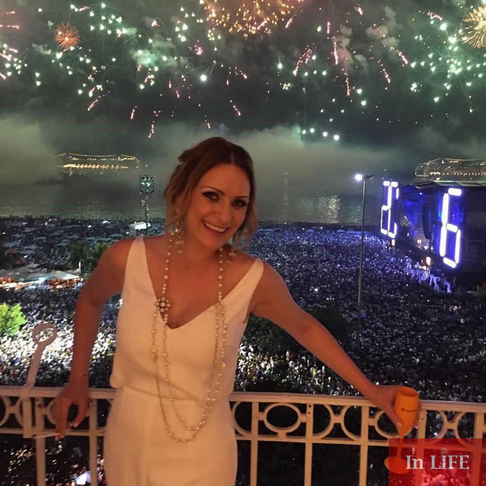 Изпълнителният директор на Unique Estates Весела Илиева посрещна 2016 г. в Рио де Жанейро