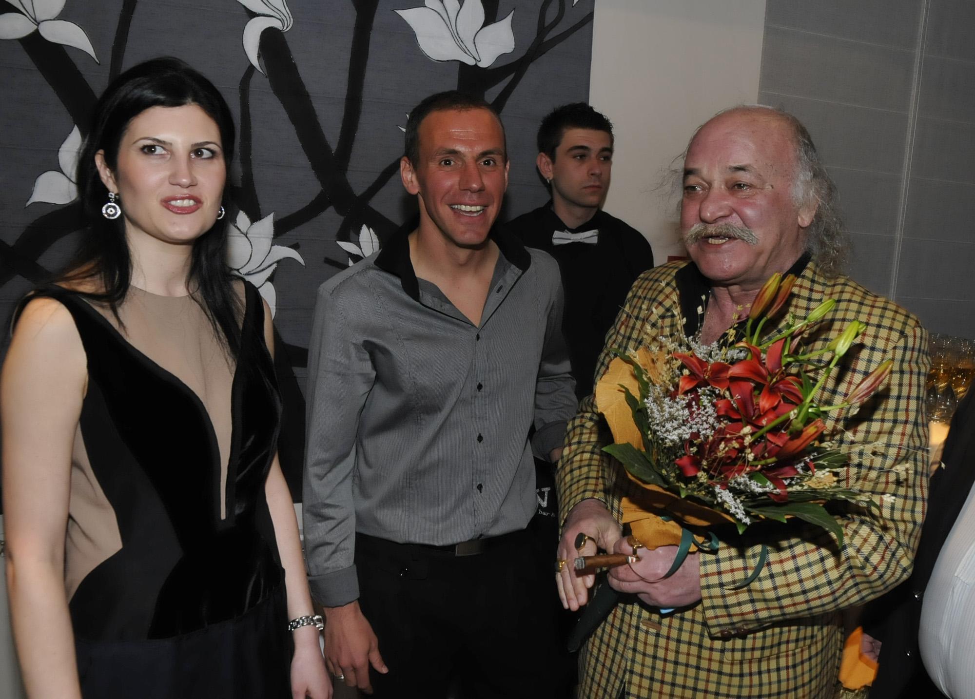 Радостин със съпругата си Красимира, която си отива от този свят през 2012 г.