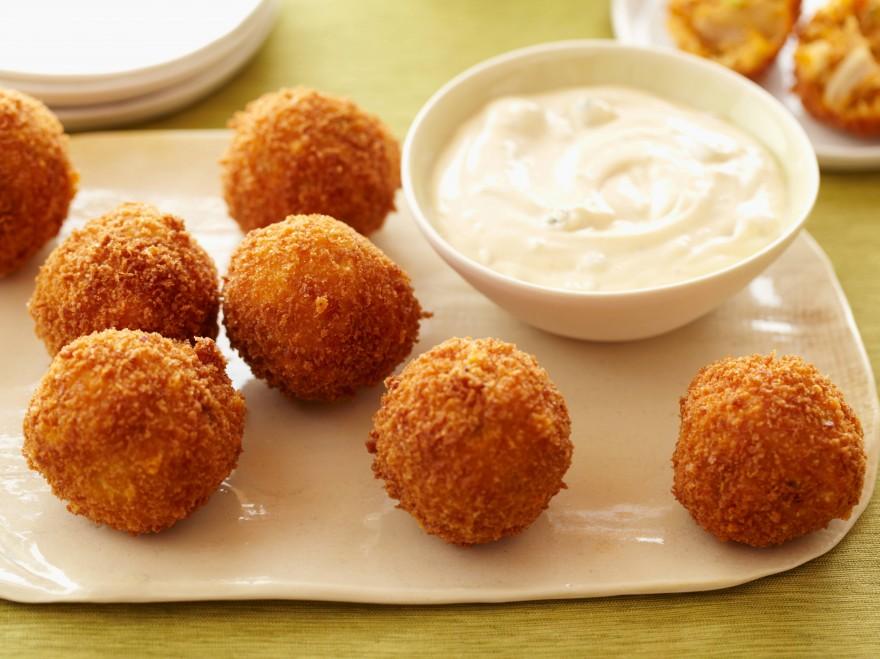FN_Aaron McCargo Jr. Buffalo Chicken Cheese Balls.tif
