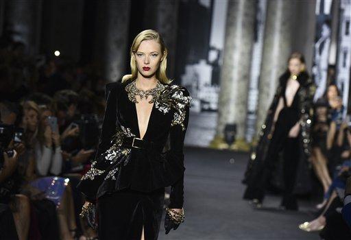 Paris Fashion Elie Saab