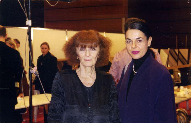 Албена Александрова със Соня Рикел
