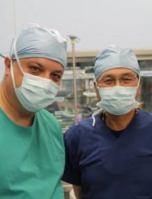 Д-р Кондов с проф. Като в Бостън