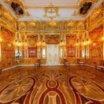 Кехлибарената стая в Екатерининския дворец в Санкт Петербург