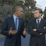 Ди Каприо в откровен разговор за глобалните промени с президента на САЩ Барак Обама.