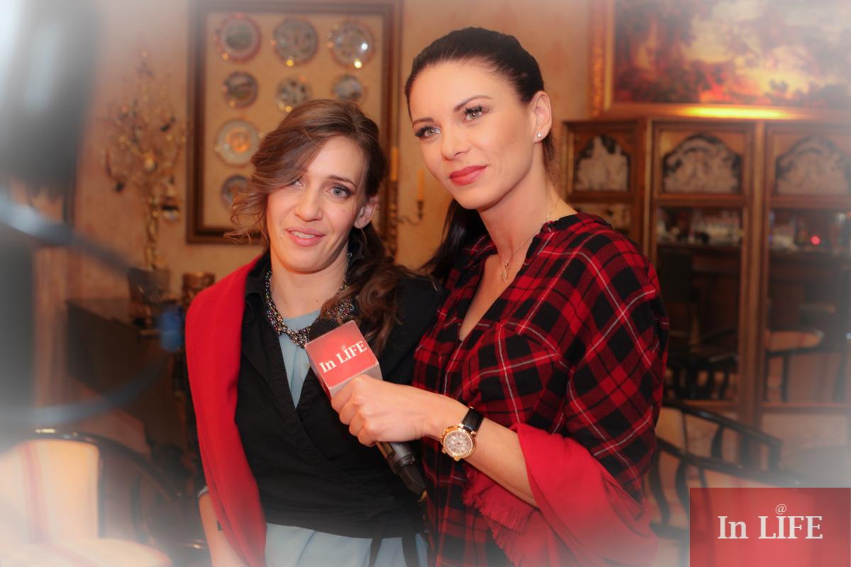 Александра Милтенова и Калина Станева, In LIFE TV за набиране на средства на Благотворителния Коледен Арт Салон за деца сираци и деца аутисти