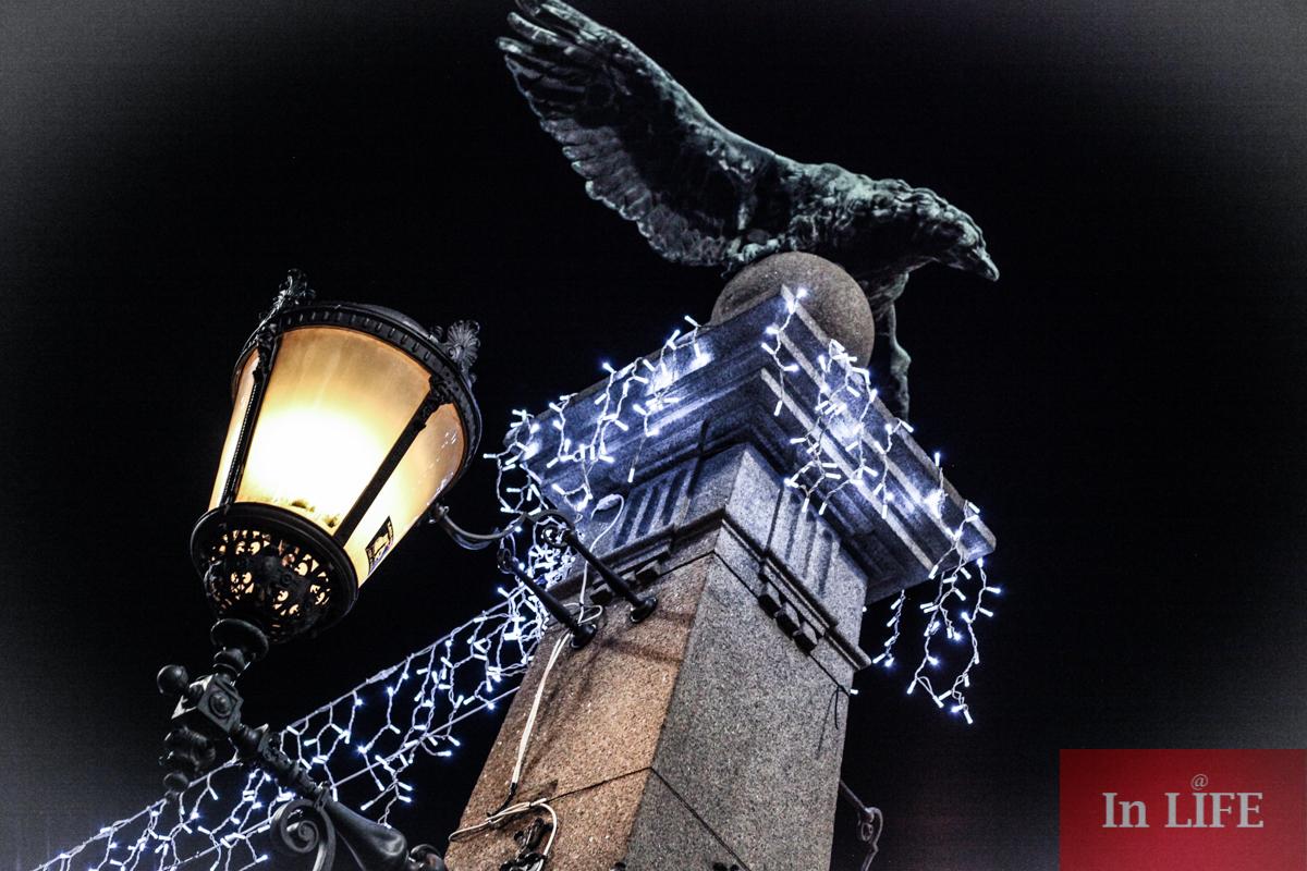 Коледните светлини на София, Орлов мост