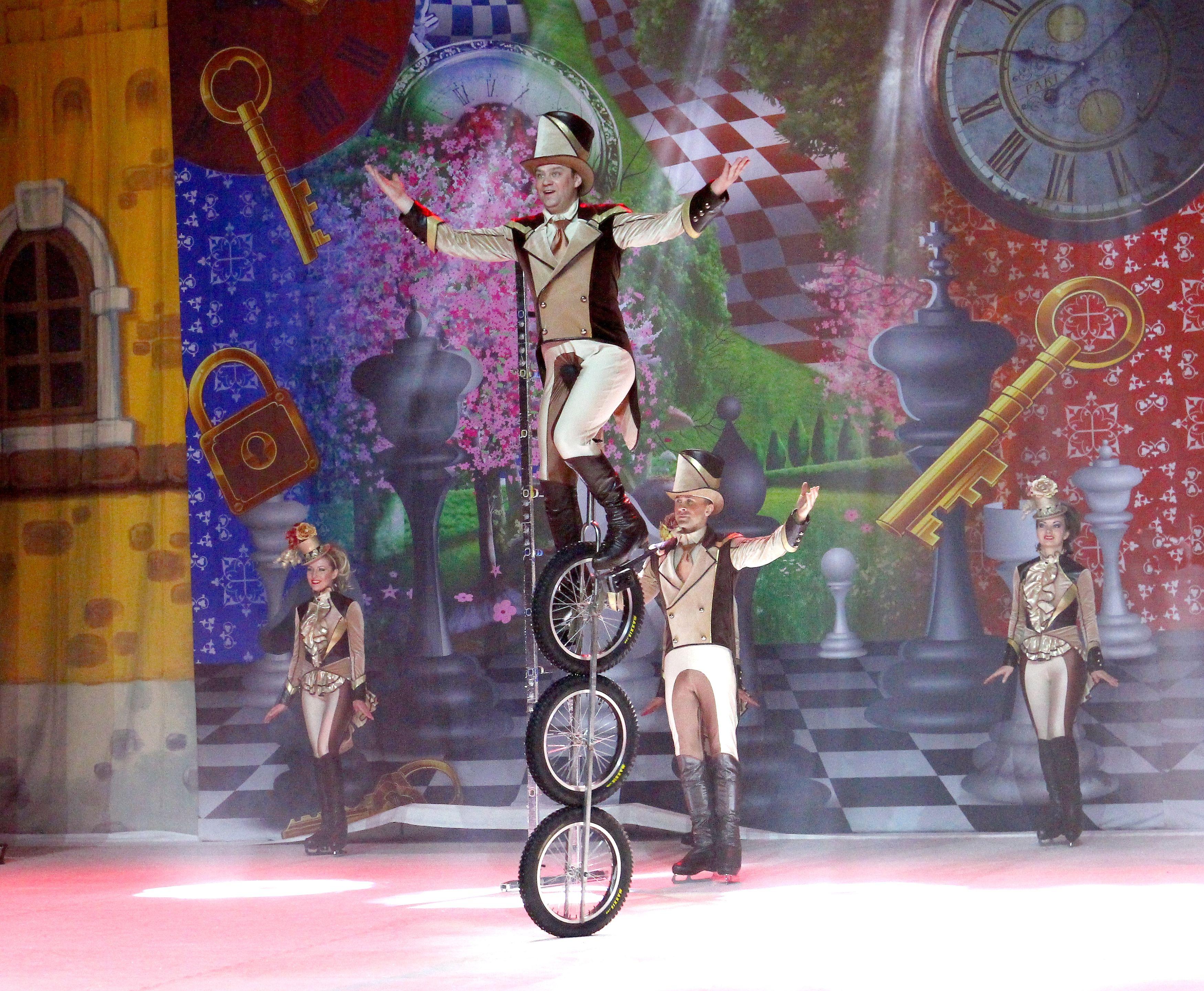 Руският цирк на лед