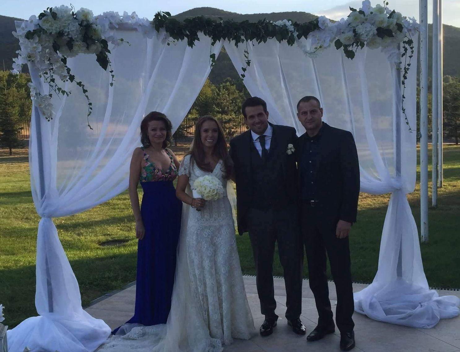 Христина Стоичкова сватба