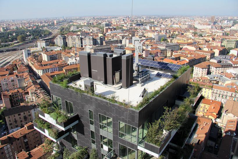 За зелените сгради по света... Bosco Verticale Милано