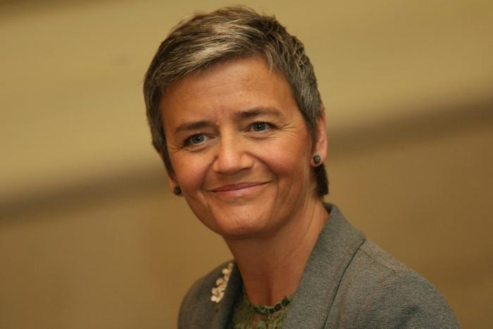 Еврокомисарката по конкуренцията Маргрете Вестагер