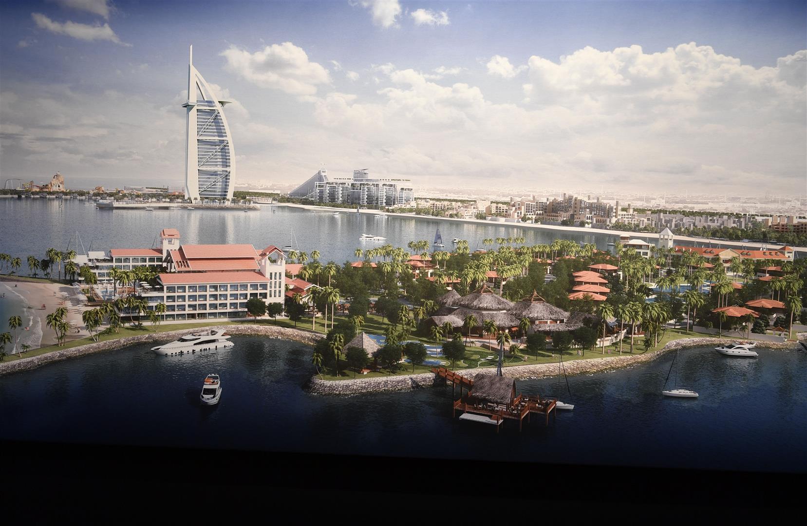 Marsa Al Arab - новото чудо на Дубай за 1,71 милиарда долара