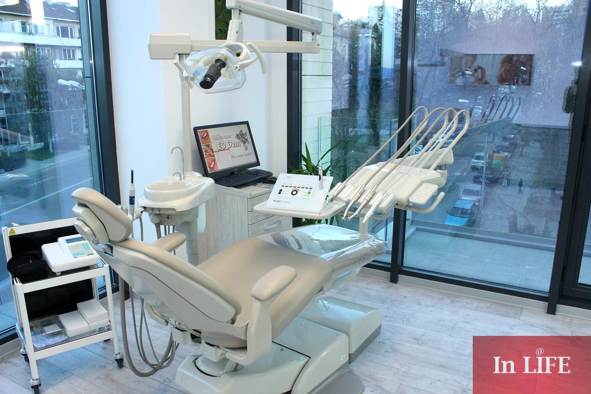 Стоматологична клиника EO DENT на бул.Черни връх в София