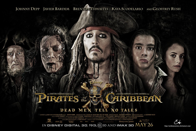 """Официалният постер на """"Карибски пирати 5""""/сн: Walt Disney"""