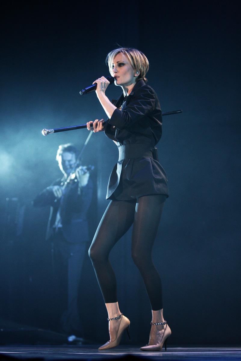 Патриция Каас на сцената/Снимка: Прес инфо