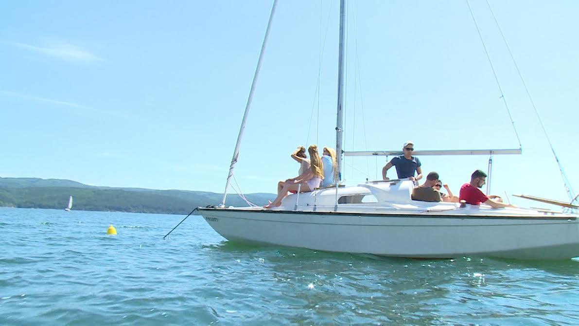 Воаяж с ветроходни яхти в яз. Искър