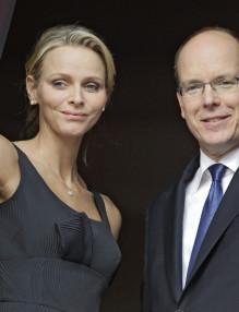 Prince Albert II of Monaco , Charlene Wittstock